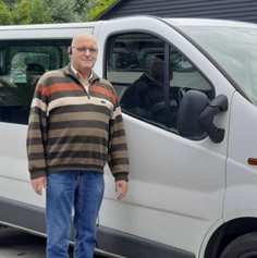 Chauffeur Piet Vermeij