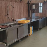 Nieuwe keuken in gebruik